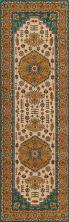 Momeni Persian Garden Pg-03 Teal Blue 2'6″ x 8'0″ Runner PERGAPG-03TEB2680