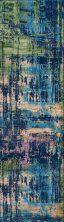 Momeni Portland Prt-3 Blue 2'3″ x 7'6″ Runner PORTLPRT-3BLU2376