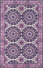Momeni Suzani Hook Szi-1 Purple 8'0″ x 10'0″ SUZHKSZI-1PUR80A0