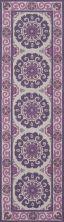 Momeni Suzani Hook Szi-1 Purple 2'3″ x 8'0″ Runner SUZHKSZI-1PUR2380