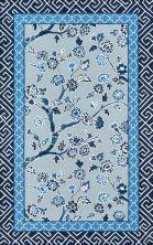Madcap Cottage Under A Loggia Und-5 Blossom Dearie Blue 8'0″ x 10'0″ UNDERUND-5BLU80A0