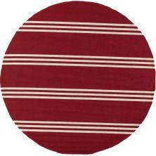 Momeni Veranda Vr-16 Red 9'0″ x 9'0″ Round VERANVR-16RED900R