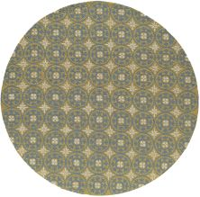 Momeni Veranda Vr-26 Yellow 9'0″ x 9'0″ Round VERANVR-26YEL900R