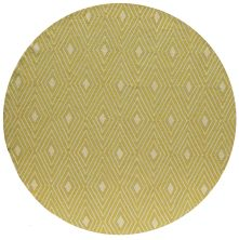 Momeni Veranda Vr-44 Yellow 9'0″ x 9'0″ Round VERANVR-44YEL900R