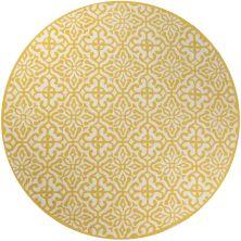 Momeni Veranda Vr-59 Yellow 9'0″ x 9'0″ Round VERANVR-59YEL900R
