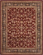 Nourison 2000 Traditional, Burgundy 5'6″ x 8'6″ 2002BRGNDY5X8