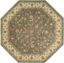 Nourison 2000 Traditional, Olive 10'0″ x 10'0″ Octagon 2003LV10X10