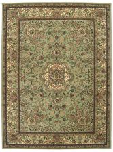 Nourison 2000 Traditional, Light Green 3'9″ x 5'9″ 2005LGHTGRN4X6