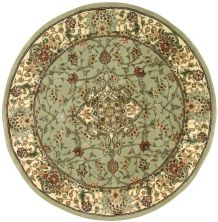 Nourison 2000 Traditional, Light Green 4'0″ x 4'0″ Round 2005LGHTGRNROUND
