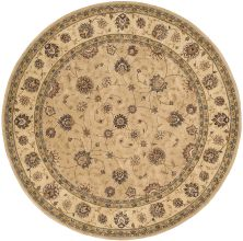 Nourison 2000 Traditional, Camel 8'0″ x 8'0″ Round 2071CMLROUND