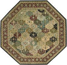 Nourison 2000 Traditional, Multicolor 10'0″ x 10'0″ Octagon 2101MLTCLR10X10