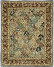 Nourison 2000 Traditional, Multicolor 3'9″ x 5'9″ 2101MLTCLR4X6