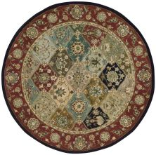 Nourison 2000 Traditional, Multicolor 4'0″ x 4'0″ Round 2101MLTCLRROUND