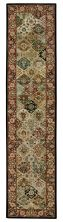 Nourison 2000 Traditional, Multicolor 2'6″ x 12'0″ Runner 2101MLTCLRRUNNER