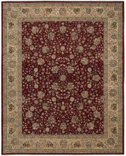 Nourison 2000 Traditional, Burgundy 9'9″ x 13'9″ 2107BRGNDY10X14