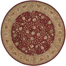 Nourison 2000 Traditional, Burgundy 8'0″ x 8'0″ Round 2107BRGNDYROUND