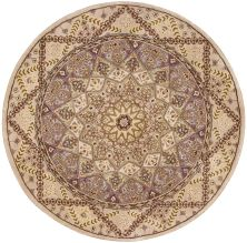 Nourison 2000 Traditional, Lavender 4'0″ x 4'0″ Round 2117LVNDRROUND