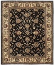 Nourison 2000 Traditional, Midnight 5'6″ x 8'6″ 2204MDNGHT5X8