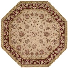 Nourison 2000 Traditional, Camel 10'0″ x 10'0″ Octagon 2205CML10X10
