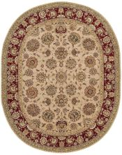 Nourison 2000 Traditional, Camel 7'6″ x 9'6″ Oval 2205CML6X9