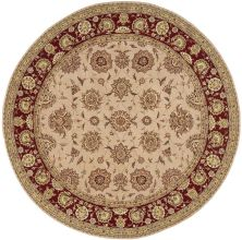 Nourison 2000 Traditional, Camel 8'0″ x 8'0″ Round 2205CMLROUND
