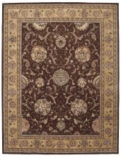 Nourison 2000 Traditional, Brown 5'6″ x 8'6″ 2206BRWN5X8