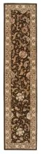 Nourison 2000 Traditional, Brown 2'6″ x 12'0″ Runner 2206BRWNRUNNER