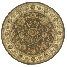 Nourison 2000 Traditional, Slate 4'0″ x 4'0″ Round 2206SLTROUND