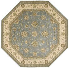 Nourison 2000 Traditional, Blue 10'0″ x 10'0″ Octagon 2210BL10X10