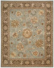Nourison 2000 Traditional, Blue 3'9″ x 5'9″ 2234BL4X6