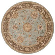 Nourison 2000 Traditional, Blue 8'0″ x 8'0″ Round 2234BLROUND