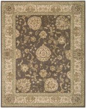 Nourison 2000 Traditional, Grey 2'6″ x 4'3″ 2259GRY3X5