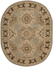 Nourison 2000 Traditional, Multicolor 7'6″ x 9'6″ Oval 2260MLTCLR6X9