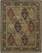 Nourison 2000 Traditional, Multicolor 2'6″ x 4'3″ 2292MLTCLR3X5
