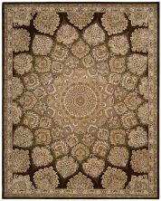 Nourison 2000 Traditional, Brown 2'6″ x 4'3″ 2318BRWN3X5