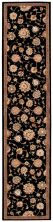 Nourison 2000 Traditional, Black 2'6″ x 12'0″ Runner 2360BLCKRUNNER