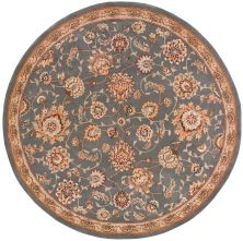 Nourison 2000 Traditional, Slate 4'0″ x 4'0″ Round 2360SLTROUND