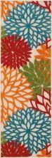 Nourison Aloha Contemporary Green 2'0″ x 6'0″ Runner ALH05GRNRUNNER