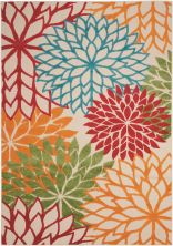 Nourison Aloha Contemporary Green 2'8″ x 4'0″ ALH05GRN3X5