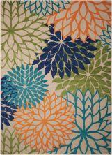 Nourison Aloha Contemporary Multicolor 9'6″ x 13'0″ ALH05MLTCLR9X12