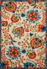 Nourison Aloha Transitional Multicolor 9'6″ x 13'0″ ALH17MLTCLR9X12