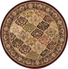 Kathy Ireland Ki11 Antiquities Multicolor 3'9″ x 3'9″ Round ANT02MLTCLRROUND
