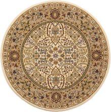 Kathy Ireland Ki11 Antiquities Ivory 3'9″ x 3'9″ Round ANT03VRYROUND