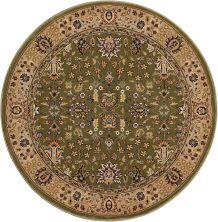 Kathy Ireland Ki11 Antiquities Sage 3'9″ x 3'9″ Round ANT04SGROUND