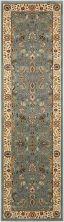 Kathy Ireland Ki11 Antiquities Traditional, Rustic/Vintage, Slate Blue 2'2″ x 7'6″ Runner ANT04SLTBLRUNNER