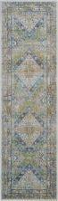 Nourison Ankara Global Blue/Green 2'4″ x 8'0″ Runner ANR07BLGRN8RUNNER