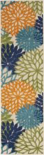 Nourison Aloha Contemporary Multicolor 2'3″ x 12'0″ Runner ALH05MLTCLR12RUNNER