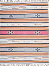 Nourison Baja Modern/Contemporary, Ivory 6'6″ x 9'6″ BAJ01VRY6X9