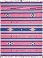 Nourison Baja Modern/Contemporary Pink/Blue 8'0″ x 10'0″ BAJ01PNKBL8X10