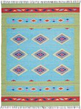 Nourison Baja Blue Green 8'0″ x 10'0″ BAJ02BLGRN8X10